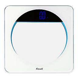 Lunar Digital Bath Scale in White