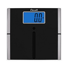 Ultra Slim Easy Read Digital Bath Scale in Black