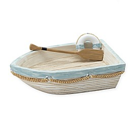 Zenna Home® Seaside Serenity Soap Dish in Blue and Natural