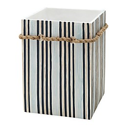 Zenna Home® Seaside Serenity Wastebasket in Blue and Natural
