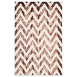 Safavieh Dip Dye Chevron Hand-Tufted Wool Area Rug