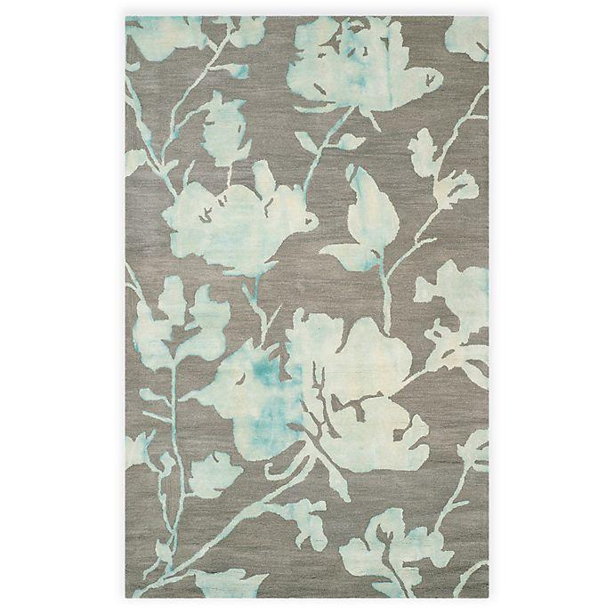 Alternate image 1 for Safavieh Dip Dye Roses Hand-Tufted Wool Area Rug