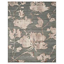 Safavieh Dip Dye Roses 9-Foot x 12-Foot Hand-Tufted Wool Area Rug in Grey/Beige