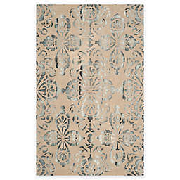 Safavieh Dip Dye Floral Medallion Hand-Tufted Wool Area Rug