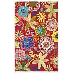 Safavieh Four Seasons Wonderland 8-Foot x 10-Foot Area Rug in Red