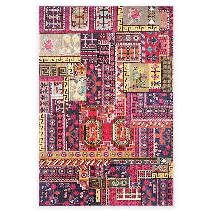 Alternate image 1 for Safavieh Monaco Jade 6-Foot 7-Inch x 9-Foot 2-Inch Area Rug in Pink Multi