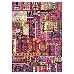 Safavieh Monaco Jade 4-Foot  5-Foot 7-Inch Area Rug in Pink Multi