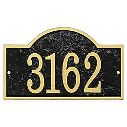 Whitehall Products Fast & Easy Arch House Numbers Plaque