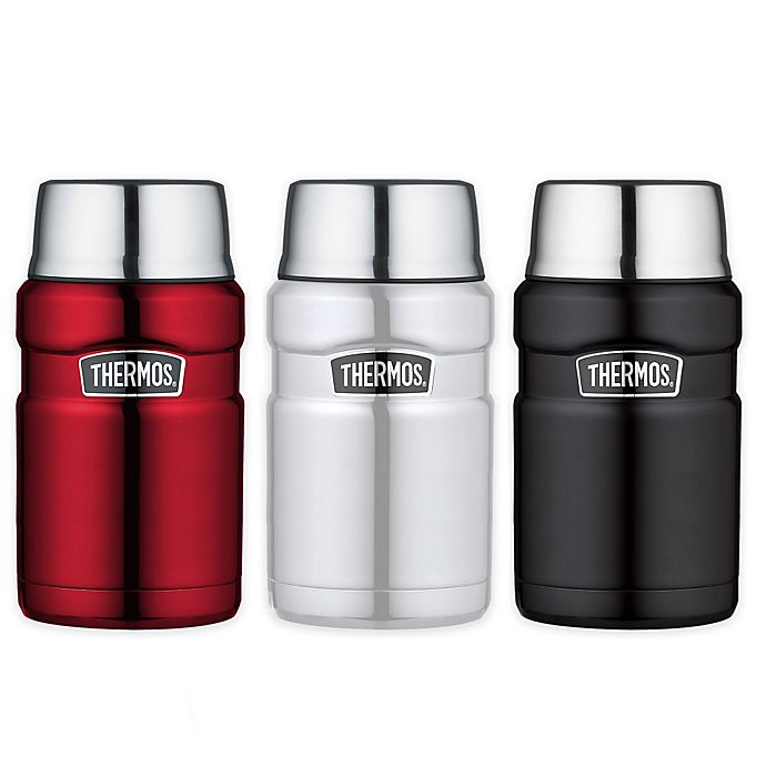Alternate image 1 for Thermos® 24 oz. Vacuum-Insulated Food Jar