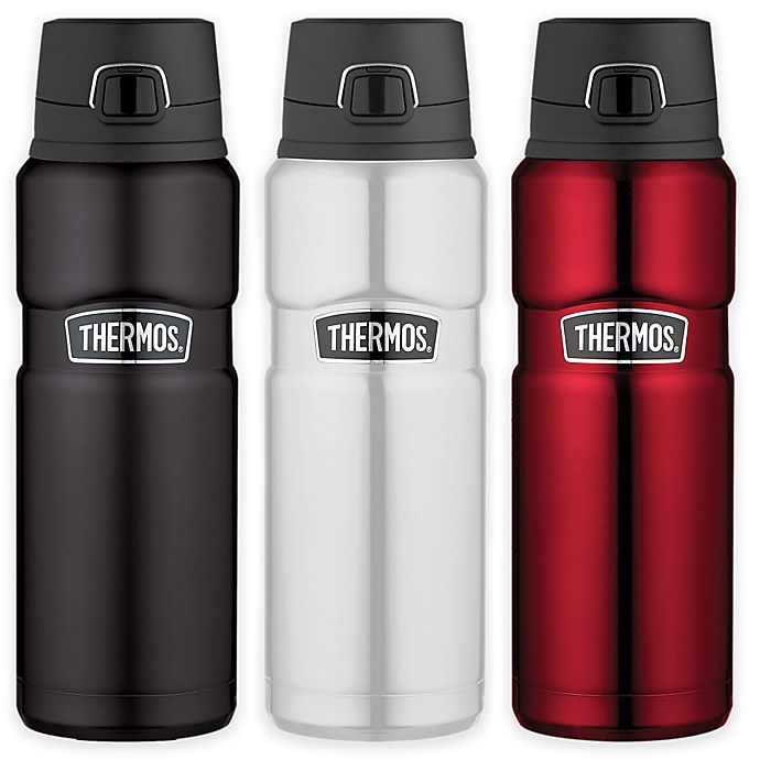 Alternate image 1 for Thermos® Stainless Steel King™ 24 oz. Vacuum Insulated Travel Tumbler