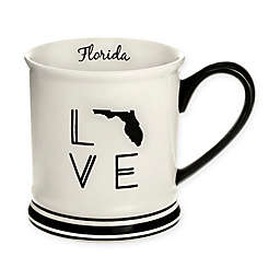 Formations Florida State Love Mug in Black and White