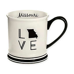 Formations Missouri State Love Mug in Black and White