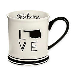 Formations Oklahoma State Love Mug in Black and White