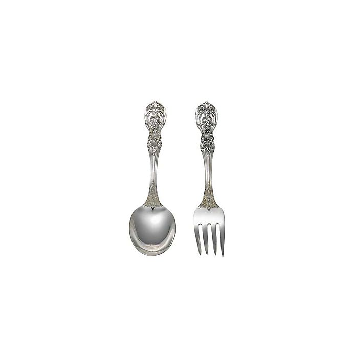 Alternate image 1 for Reed & Barton Francis I Sterling Silver 2-Piece Baby Flatware Set