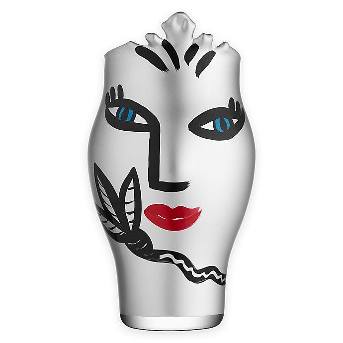 Alternate image 1 for Kosta Boda Open Minds 9.83-Inch Vase in Silver