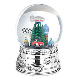 Reed & Barton Race Car Musical Water Globe