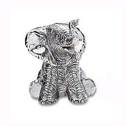 Reed & Barton Baby Elephant Music Box