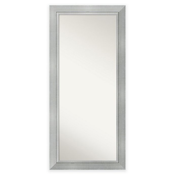 Alternate image 1 for 31.25-Inch x 67.25-Inch Romano Floor Mirror in Silver