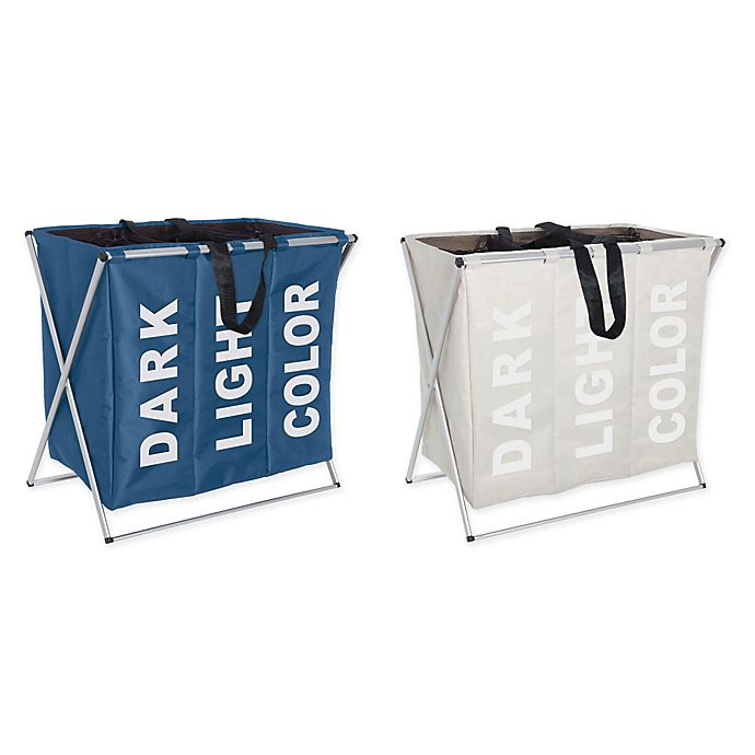 Alternate image 1 for Wenko Trio Laundry Bin