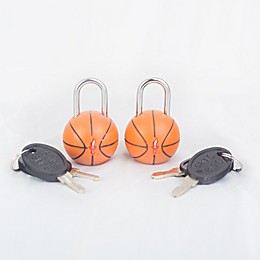 Safe Skies® TSA Basketball Luggage Locks (Set of2)
