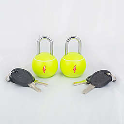 Safe Skies® TSA Tennis Ball Luggage Locks (Set of2)