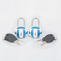 Safe Skies® TSA Volleyball Luggage Locks (Set of2)