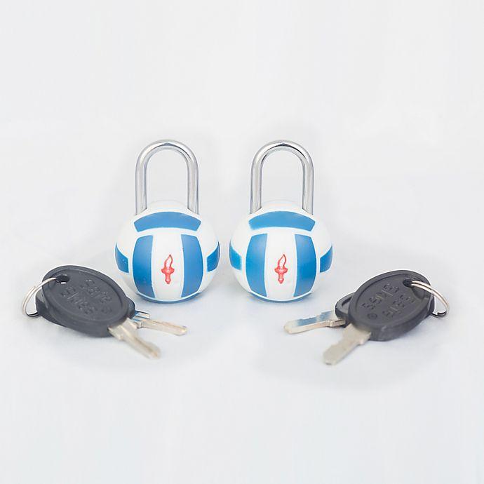 Alternate image 1 for Safe Skies® TSA Volleyball Luggage Locks (Set of2)
