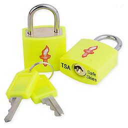 Safe Skies® TSA-Recognized Keyed Padlock (Set of 2)