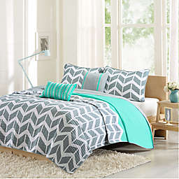 Intelligent Design Nadia 5-Piece Reversible Coverlet Set