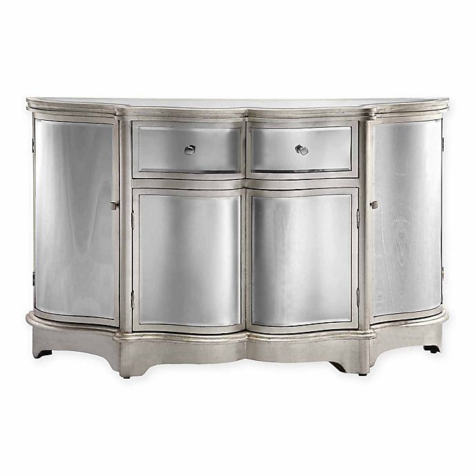 Alternate image 1 for Stein World Rosalind Accent Cabinet in Silver