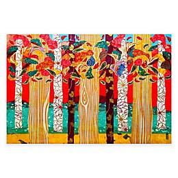 Marmont Hill Auburn Forest 45-Inch x 30-Inch Canvas Wall Art