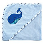 BabyVision® Luvable Friends® Whale Hooded Towel in Blue