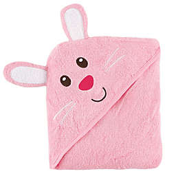 Baby Vision® Luvable Friends® Bunny Embroidery Hooded Towel