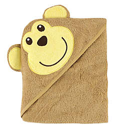 Luvable Friends® Monkey Hooded Towel in Brown