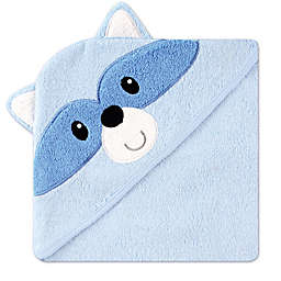 Baby Vision® Luvable Friends® Raccoon Embroidery Hooded Towel