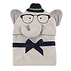 BabyVision® Luvable Friends® Smart Elephant Hooded Towel in Grey
