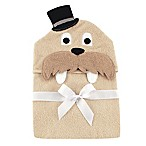 BabyVision® Luvable Friends® Walrus Hooded Towel in Beige