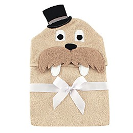 BabyVision® Luvable Friends® Walrus Hooded Towel in Beige