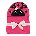 Baby Vision® Hudson Baby® Ladybug Hooded Towel in Pink