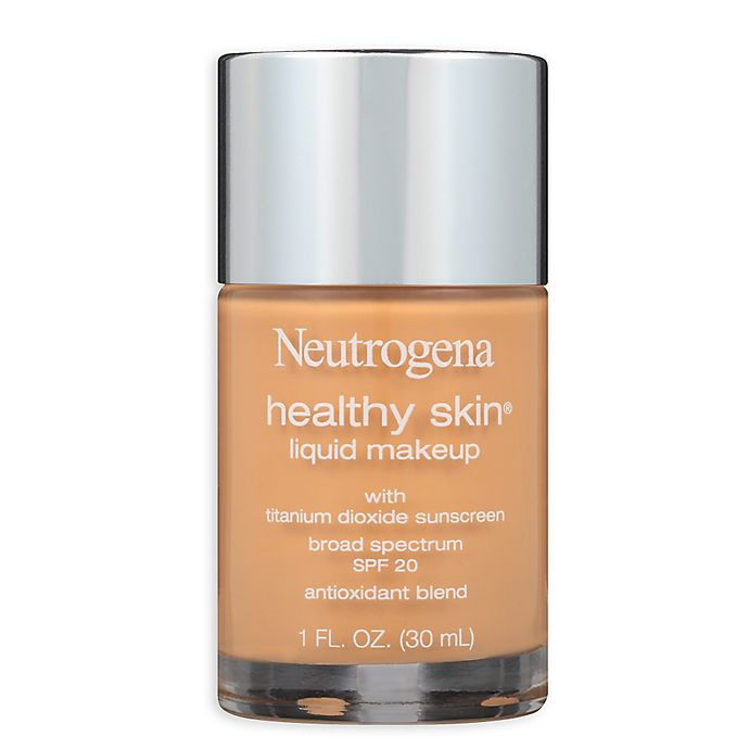 Alternate image 1 for Neutrogena® Healthy Skin® 1 oz. Liquid Makeup Broad Spectrum SPF 20 in Honey 85