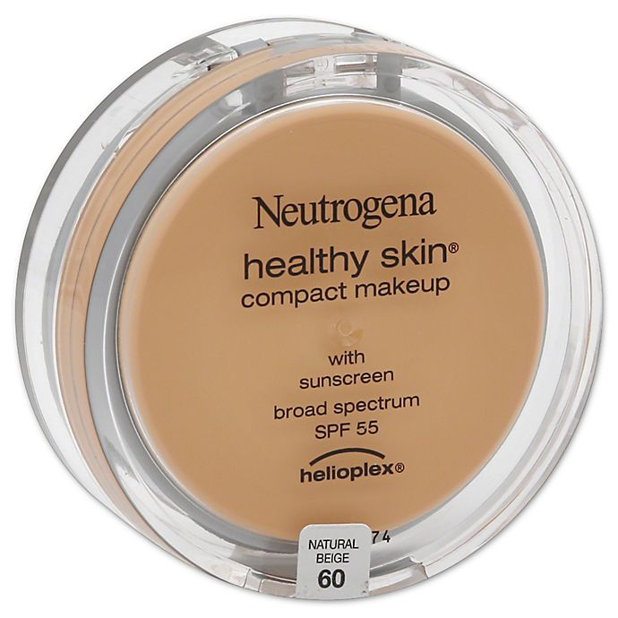 Alternate image 1 for Neutrogena® Healthy Skin® .35 oz. Compact Makeup Broad Spectrum SPF 55 in Natural Beige 60