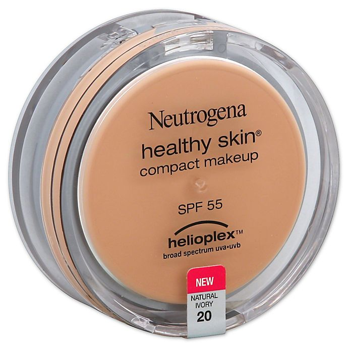 Alternate image 1 for Neutrogena® Healthy Skin® .35 oz. Compact Makeup Broad Spectrum SPF 55 in Natural Ivory 20