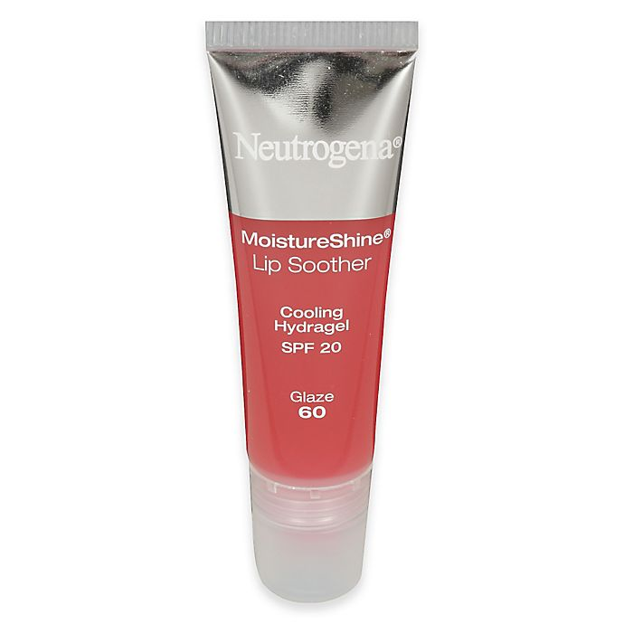Alternate image 1 for Neutrogena® Moistureshine® .35 oz. Lip Soother SPF 20 in Glaze 60