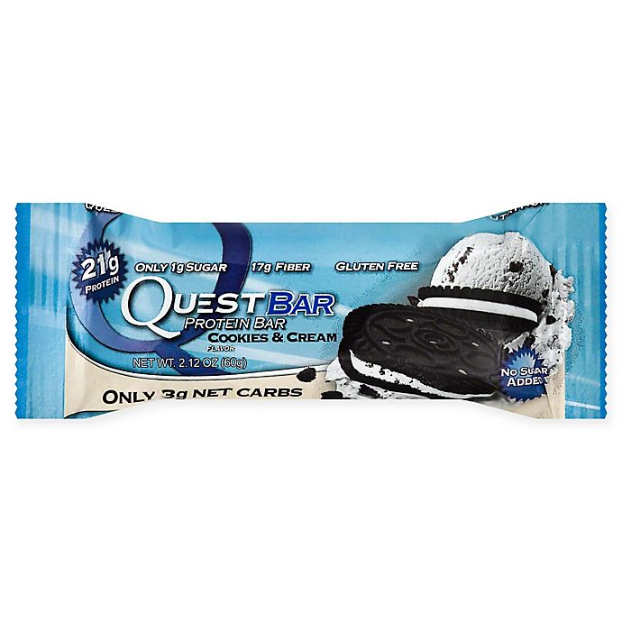Alternate image 1 for Quest Nutrition® 2.12 oz. Protein Bar in Cookies and Cream