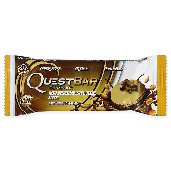 Alternate image 1 for Quest Nutrition® 2.12 oz. Protein Bar in Chocolate Peanut Butter