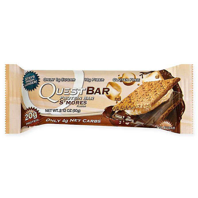 Alternate image 1 for Quest Nutrition® 2.12 oz. Protein Bar in Smores