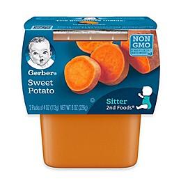 Gerber® 2nd Foods® 2-Pack 4 oz. Sweet Potatoes