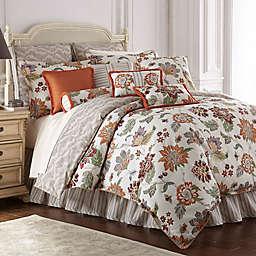 Rose Tree Lisburn Reversible Comforter Set in Orange