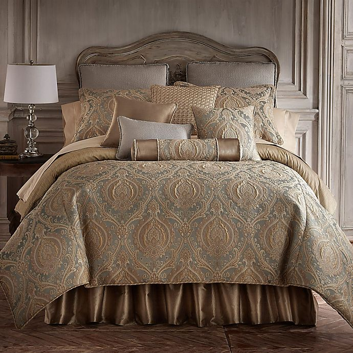 Alternate image 1 for Rose Tree Norwich Reversible Queen Comforter Set in Mushroom