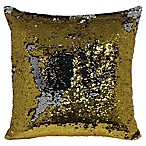 Mermaid Sequin Throw Pillow in Gold/Silver